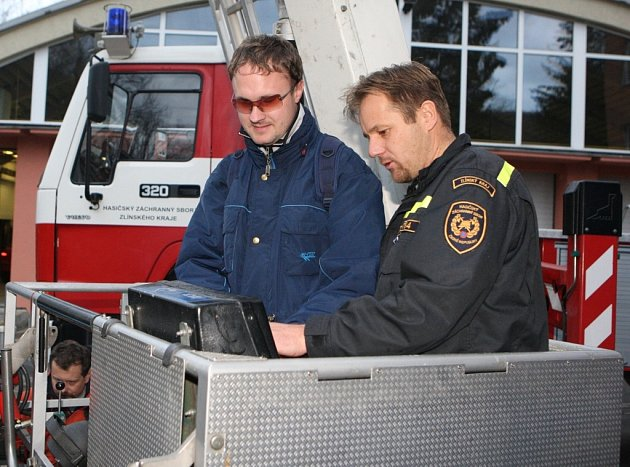 Speciální cvičení zlínských hasičů pro postižené