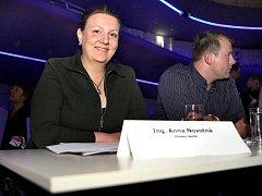 Jednou z porotkyní souteže Miss Academia byla v úterý 29. března také editorka Zlínského deníku Anna Novotná.