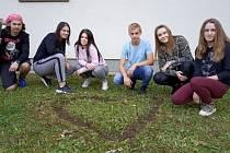Studenti prvního ročníku Veřejné správy se aktivně zapojili do realizace projektu.
