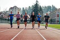 Ve Zlíně se dlouhodobě připravují čeští triatlonoví reprezentanti