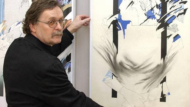 Výstava výtvarníka Jiřího Elišky