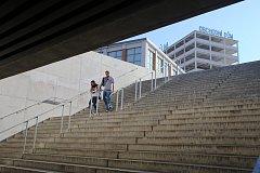 Podchod  na Náměstí práce ve Zlíně.