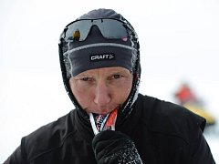 Petr Vabroušek v Antarktidě