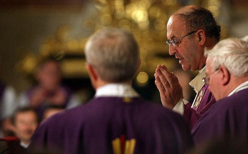 Poslední rozloučení s kardinálem Tomášem Špidlíkem se konalo 30. dubna na Velehradě.