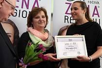 Předávání ceny Žena regionu 2014 krajský úřad ve Zlíně.