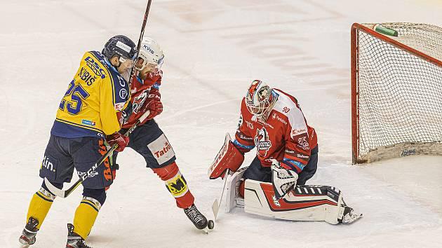 Hokejisté PSG Berani Zlín hostili Pardubice