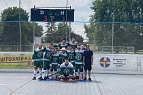 hokejbal 1. liga Autosklo Pardubice B - Malenovice