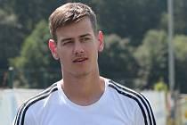 Fotbalista Baťova Jan Gojš nastřílel Jaroslavicím v krajském poháru šest branek.