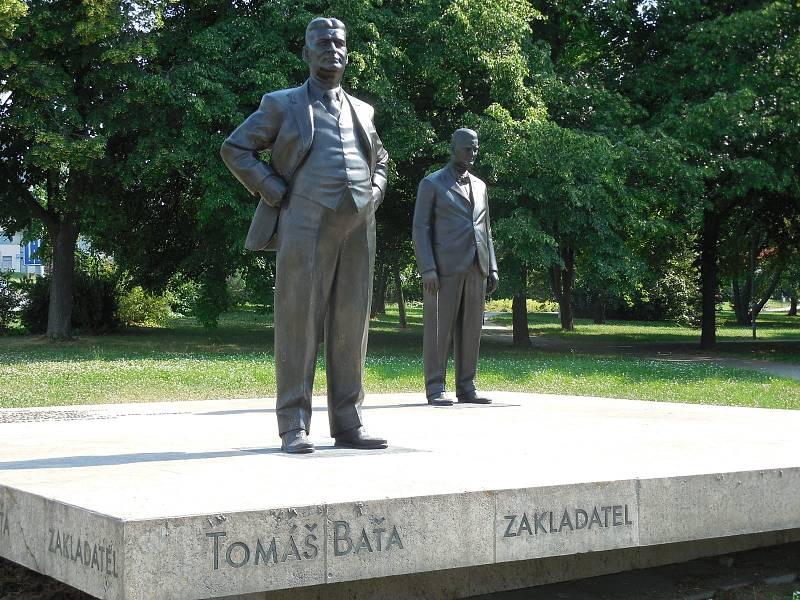 Tomáš Baťa a Jan Antonín Baťa.