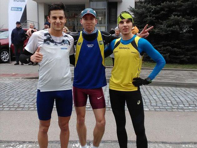 Tomáš Navrátil ve Štěpánském běhu vKyjově 2018