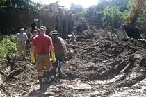 Zlínský ošetřovatel v Tbilisi: Brodili jsme se po pás v bahně