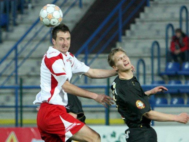 Stoper fotbalové Tescomy Zdeněk Kroča.