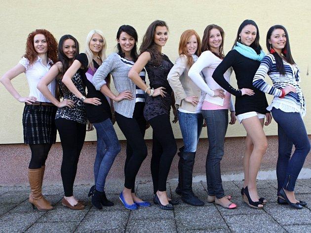 Finalistky Miss Academia 2012