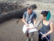 Archeologický průzkum v Malenovicích u Möbelixu