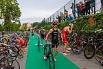 První Supersprint triatlon ve Zlíně se vydařil, vyhrál ho Jan Volár
