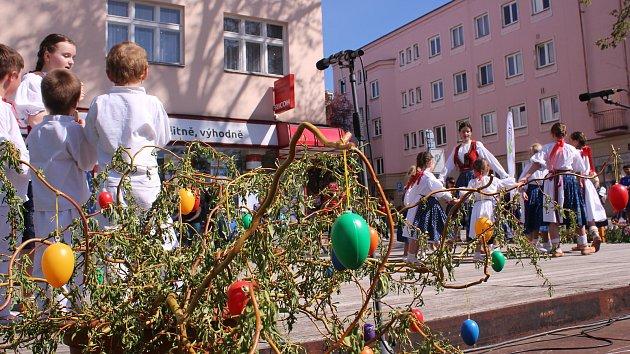 Velikonoce v parku Komenského ve Zlíně
