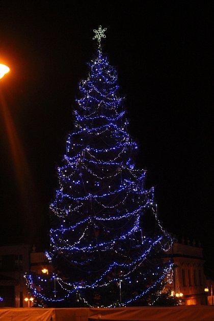 Vánoční strom Uherský Brod