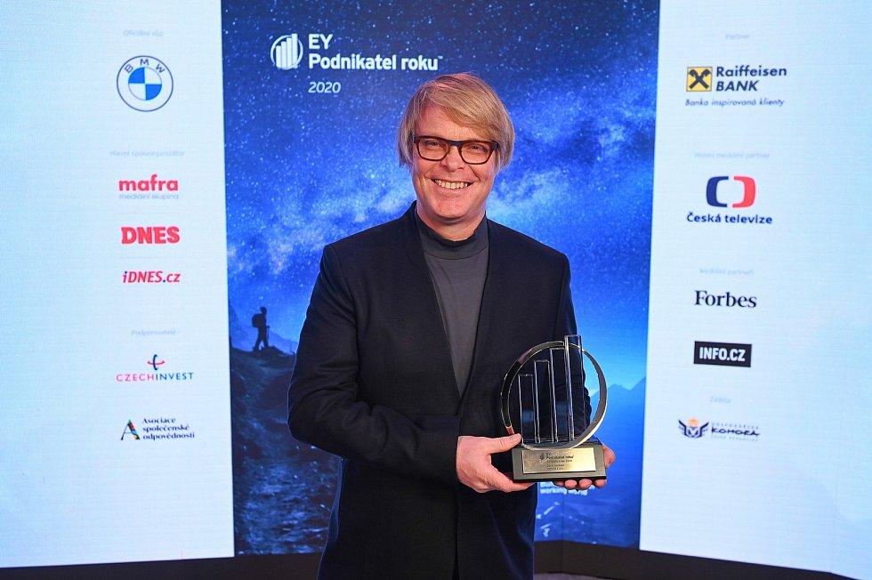 Podnikatel roku 2020 Zlínského kraje David Karásek
