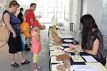 Muzeum jihovýchodní Moravy ve Zlíně si na neděli 26. července v rámci probíhající výstavy Příběh chleba připravilo akci s názvem Pekařská neděle. Návštěvníci tady měli možnost ochutnat doma upečené chleby.