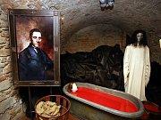 Výstava Strašidelné sklepení zlínského zámku ve Zlíně.
