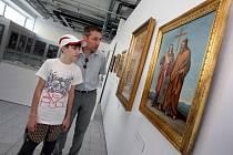 Výstava Cyrilometodějský Velehrad v Baťově institutu.