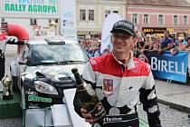 Závod Mistrovství ČR ve sprintrallye vyhráli díky skvěle zvládnuté poslední rychlostní zkoušce Tarabus s Trunkátem na voze Škoda Fabia S2000 (č. 2), kteří o pouhé tři desetiny vteřiny porazili zkušenou německou posádku Kahle, Dörr se Škodou Fabia WRC