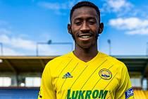 Fotbalista Zlína Youba Dramé.