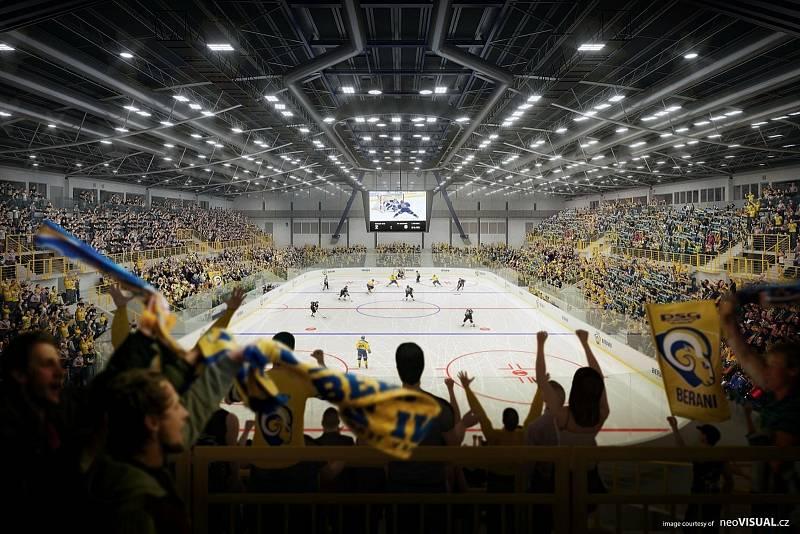 Jak by měl vypadat zrekonstruovaný Zimní stadion Luďka Čajky?