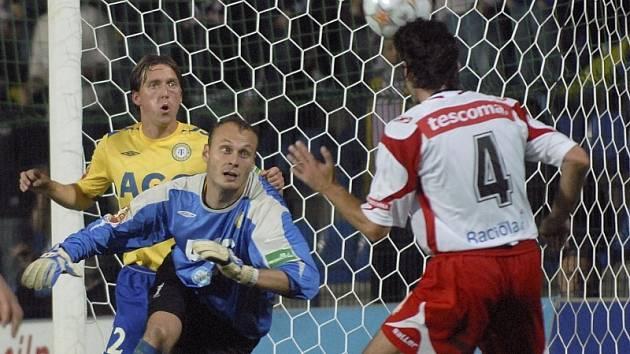Zlínský fotbalista Marek Zubek