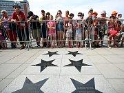 57. ZLÍN FILM FESTIVAL 2017 - Mezinárodní festival pro děti a mládež. Chodník slávy