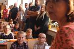 První školní den v  16. ZŠ Okružní, a Církevní základní škole a mateřská škole ve Zlíně.