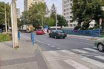 Kompletní uzavírka ulice 2. května potrápí od čtvrtka 22. 8. až do neděle 25. srpna 2019 řidiče ve Zlíně.