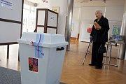 Volby 2017Volební okrsek 1  Kolektivní dům ve Zlíně.