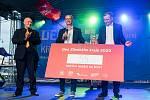Během Dne Zlínského kraje se v sobotu 19. září 2020 ve Zlíně zapsalo do registru dárců kostní dřeně padesát pět lidí.