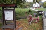 Podhradí - výstava staré zemědělské techniky