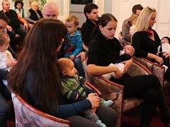 Poslední vítání občánků s letopočtem 2015 ve Valašských Kloboukách