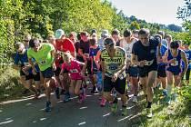 Běh na 2 míle, srpen 2020