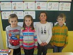 První třída Základní školy Bratřejov.