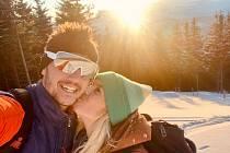 David Jílek Everesting na skialpech v Koutech nad Desnou 2021