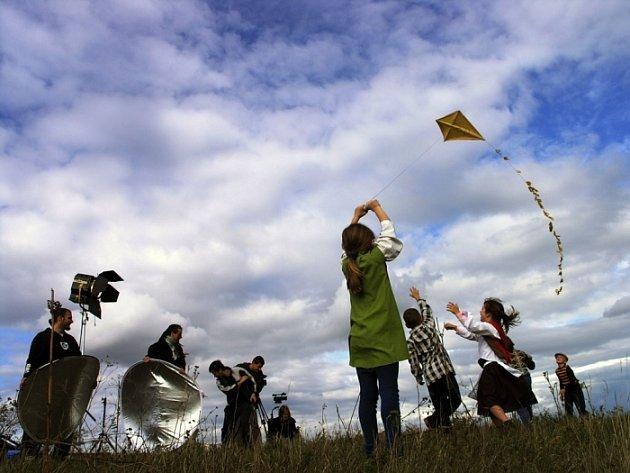 Obrazek z natáčeného klipu