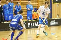 Florbalisté Otrokovic se postavili ve 3. zápase čtvrtfinále play-off proti Chodovu.