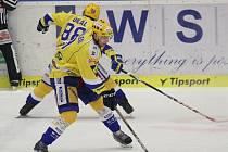 Extraligoví hokejisté Zlína. Na snímku Köhler.