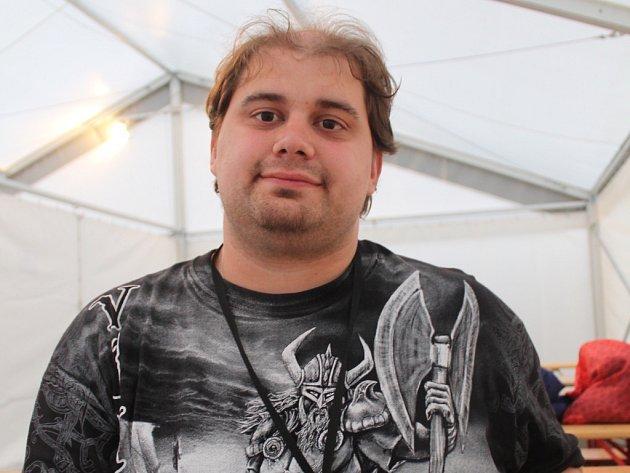 David Mikulášek ze Zlína