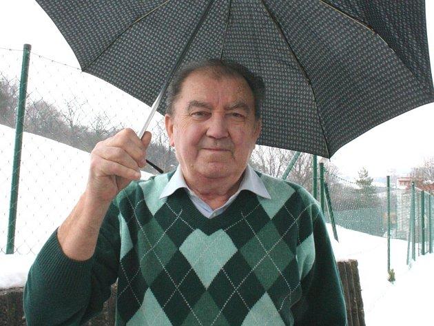 Meteorolog Jaroslav Baný.