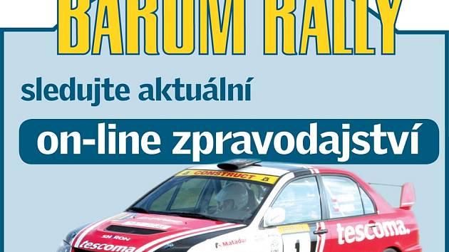 Barum Rally Zlín - online