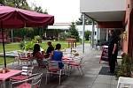 Po dlouhé době se opět otevřely dveře naší tréninkové kavárny.