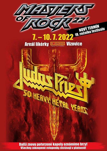 Plakát 18.ročníku Masters of Rock
