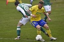 Zkušený fotbalista Zlína Antonín Fantiš na jaře nastupuje na nezvyklé pozici pravého obránce.