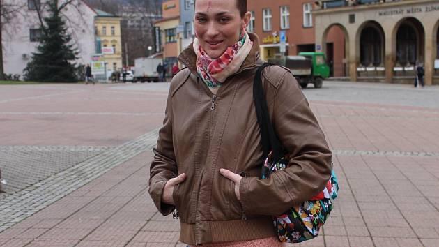 Petra Slavíková, která získala Cenu Zlínského deníku společně. Deník ji udělil jí a její sestře Heleně Markové za to, jak se statečně postavily leukémii a jak se staly symbolem boje proti této zákeřné nemoci.