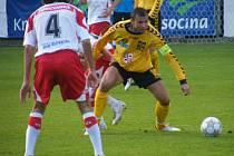 Nejlepší druholigový střelec Petr Faldyna prožil bohatou fotbalovou kariéru. Foto: archiv Deníku a Vysočiny Jihlava